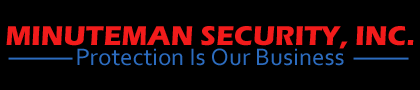 Logo, MINUTEMAN SECURITY, INC. - Security Firm